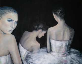 Ballerina by Kirsten Adrian | maleri
