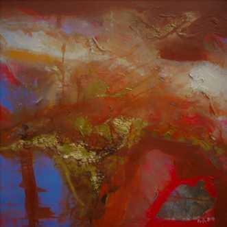 Psychosis 0667 by Ovidia Hansen | maleri