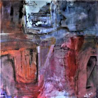 Psychosis 0682  by Ovidia Hansen | maleri