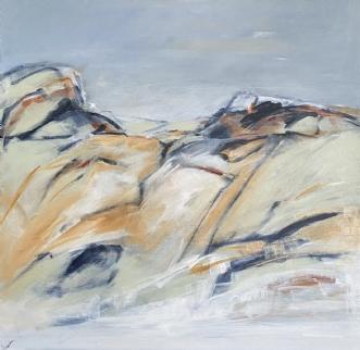 Islandais vie 2 by Birthe Villauma | maleri