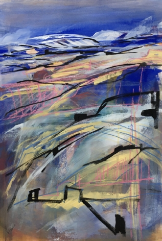 Dernier iceberg by Birthe Villauma | tegning