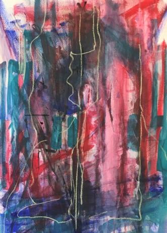 M5 by Birthe Villauma | tegning