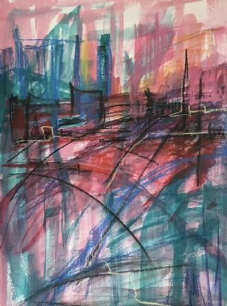 M1 by Birthe Villauma | tegning
