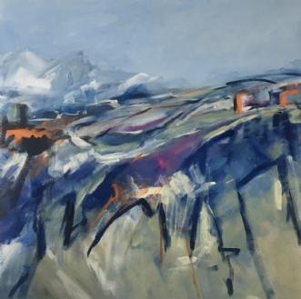 La vallée by Birthe Villauma | maleri