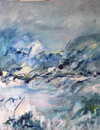 Voyage by Birthe Villauma | maleri