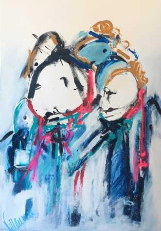 Curios by Birthe Villauma | tegning