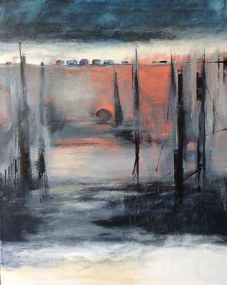 Maleri af Birthe Villauma
