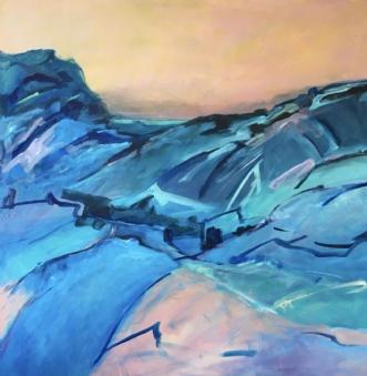 Plateaux by Birthe Villauma | maleri