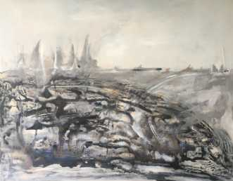 Where is the dragon by Birthe Villauma   maleri