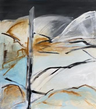 Premier jalon by Birthe Villauma | maleri