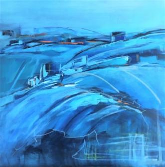 Colline by Birthe Villauma | maleri