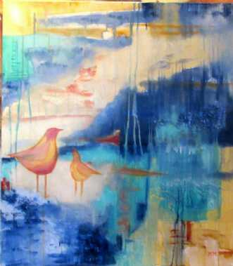 Maleri af Marianne Mønsted