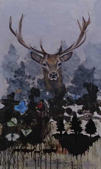 iDeer by Pia Vestmar | maleri