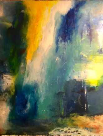 Uden titel by Jens-Erik Søholt Hammerum | maleri