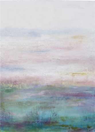 lyst landskab 2 by Tove Balling | maleri