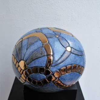 gobbel mellem  art deco og metalafTove Balling