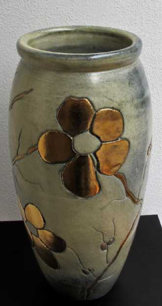 gulvvase mellem m. .. by Tove Balling | keramik