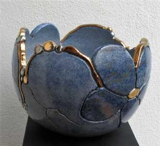 buttet krukke 2  m... by Tove Balling | keramik