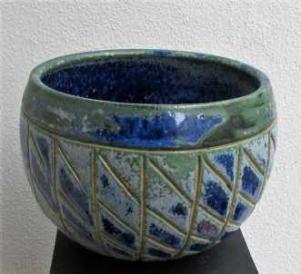 buttet krukke uden .. by Tove Balling | keramik