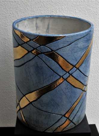 potte mellem m. str.. by Tove Balling | keramik