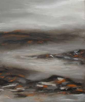 Islandskab 1 by Tina Lund Christiansen | maleri