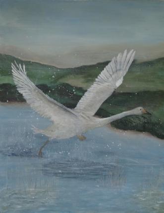 Tro på det by Tina Lund Christiansen | maleri