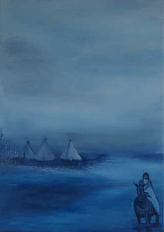 Homeland 1 by Tina Lund Christiansen | maleri