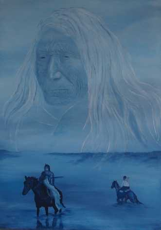 Homeland 2 by Tina Lund Christiansen | maleri