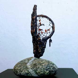 Hvor drømmene blive.. by Tina Lund Christiansen | skulptur