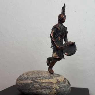 Musikeren by Tina Lund Christiansen | skulptur