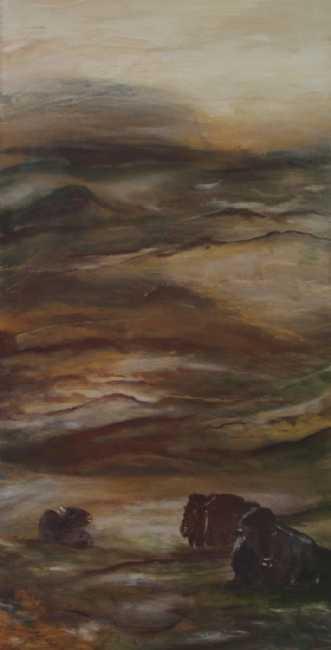 Hviletid 1 by Tina Lund Christiansen | maleri