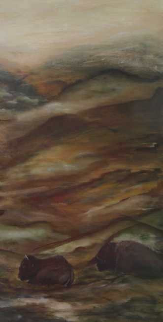 Hviletid 2 by Tina Lund Christiansen | maleri