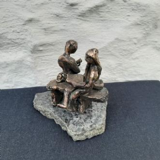 Afslapning og still.. by Tina Lund Christiansen | skulptur