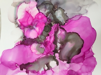 Abstrakt by Kirsten Herse | tegning