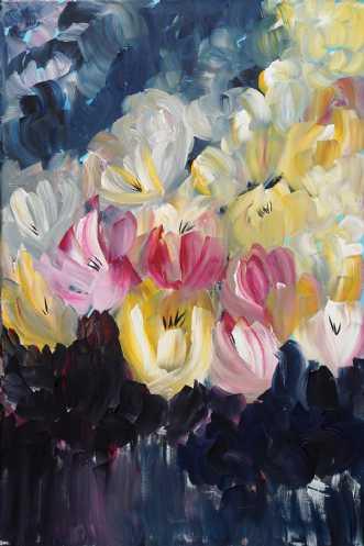 Mine yndlingsblomst.. by Kirsten Herse | maleri