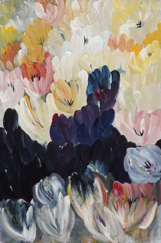 Blomsterflor by Kirsten Herse | maleri