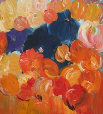 Orange tulipaner