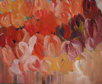 Tulipaner i min haveafKirsten Herse