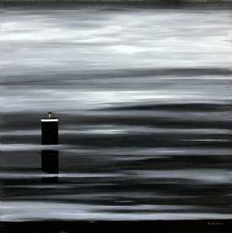 Silence by Henrijete Elmkjær | maleri