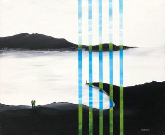 The lighthouse by Henrijete Elmkjær | maleri