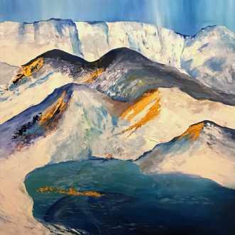 Nordic inspiration .. by Mette Hansgaard | maleri