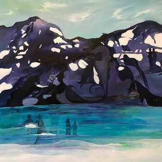 Nordiske landskaber.. by Mette Hansgaard | maleri