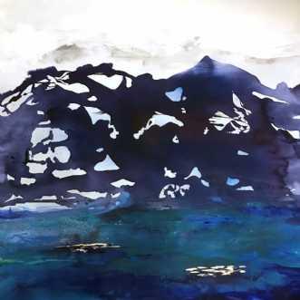 Landskabsmaleri  by Mette Hansgaard | maleri