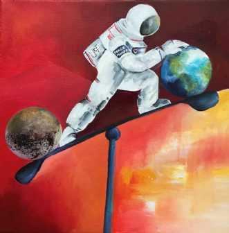 Life balance  by Mette Hansgaard | maleri