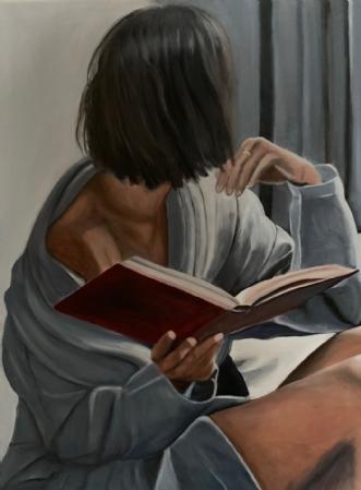 Morgenstund by Sanne Rasmussen | maleri