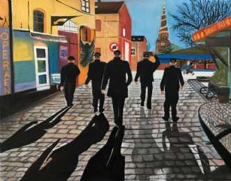 Christiania by Sanne Rasmussen | maleri