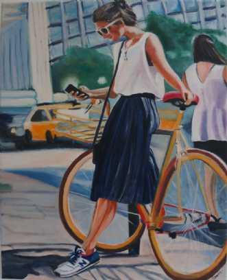 New balance by Sanne Rasmussen | maleri