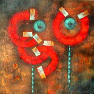 Tango by Lykke Mørch | maleri