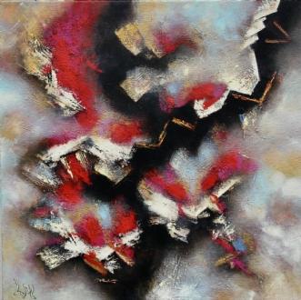 No title by Lykke Mørch | maleri