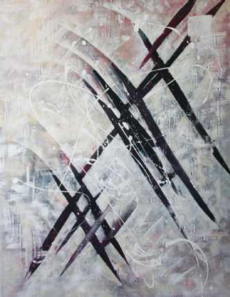 Pilestorm by Lykke Mørch   maleri